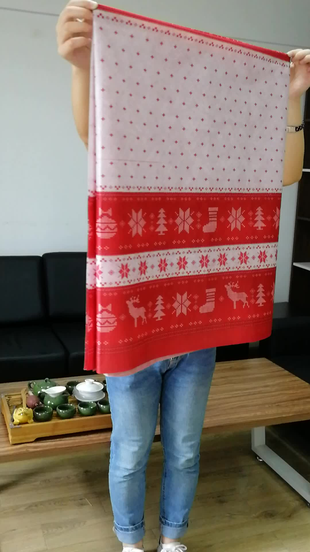 Factory Disposable Table Cloth for Christmas
