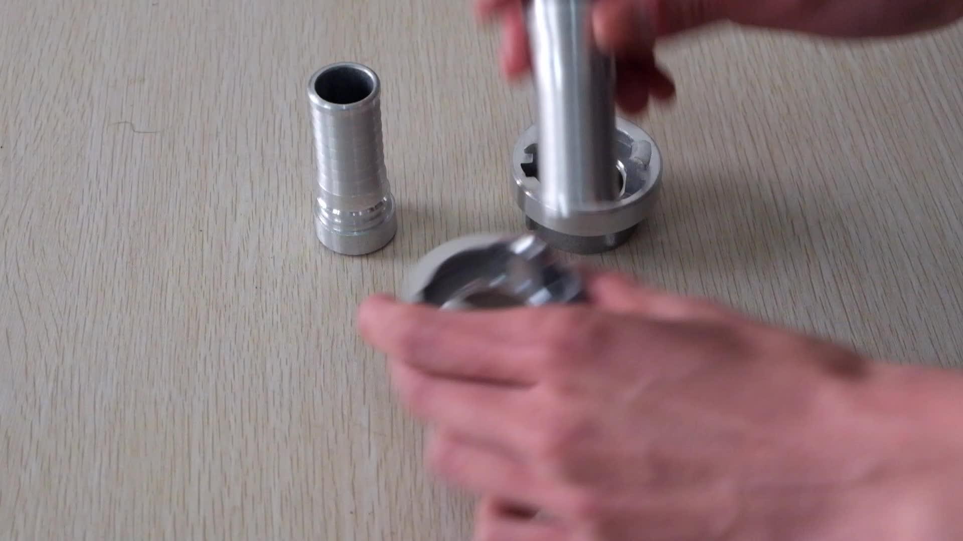 XHYXFire tiêu chuẩn Storz hose khớp nối giả mạo nhôm máy bơm chữa cháy phù hợp Nhà Máy Bán Hàng Trực Tiếp