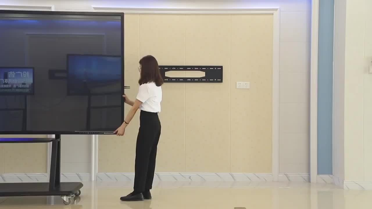 75 86 Inch Ultra Hd 4K Led Interactieve Touch Screen Monitor Led Smart Board Met Pc Alles In Een
