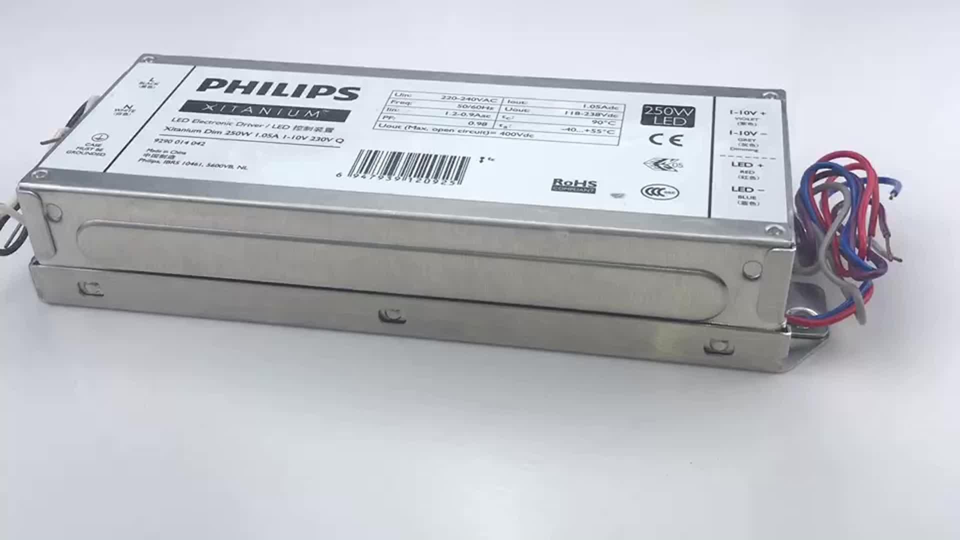 Xitanium Lite Programlanabilir GEN3 250 W 1.05A PHILIPS Aydınlatma için LED Sürücü