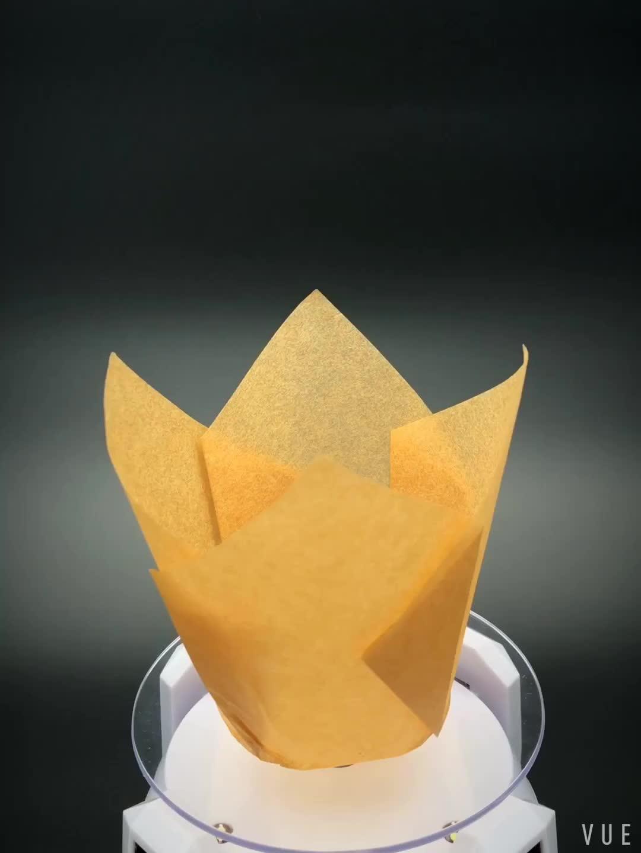 Backen verwenden einzigen wand stil Europa pergament papier muffin backen tasse papier cupcake liner