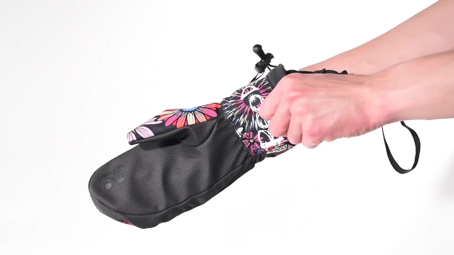 Winter outdoor water proof, water resistant winter gloves