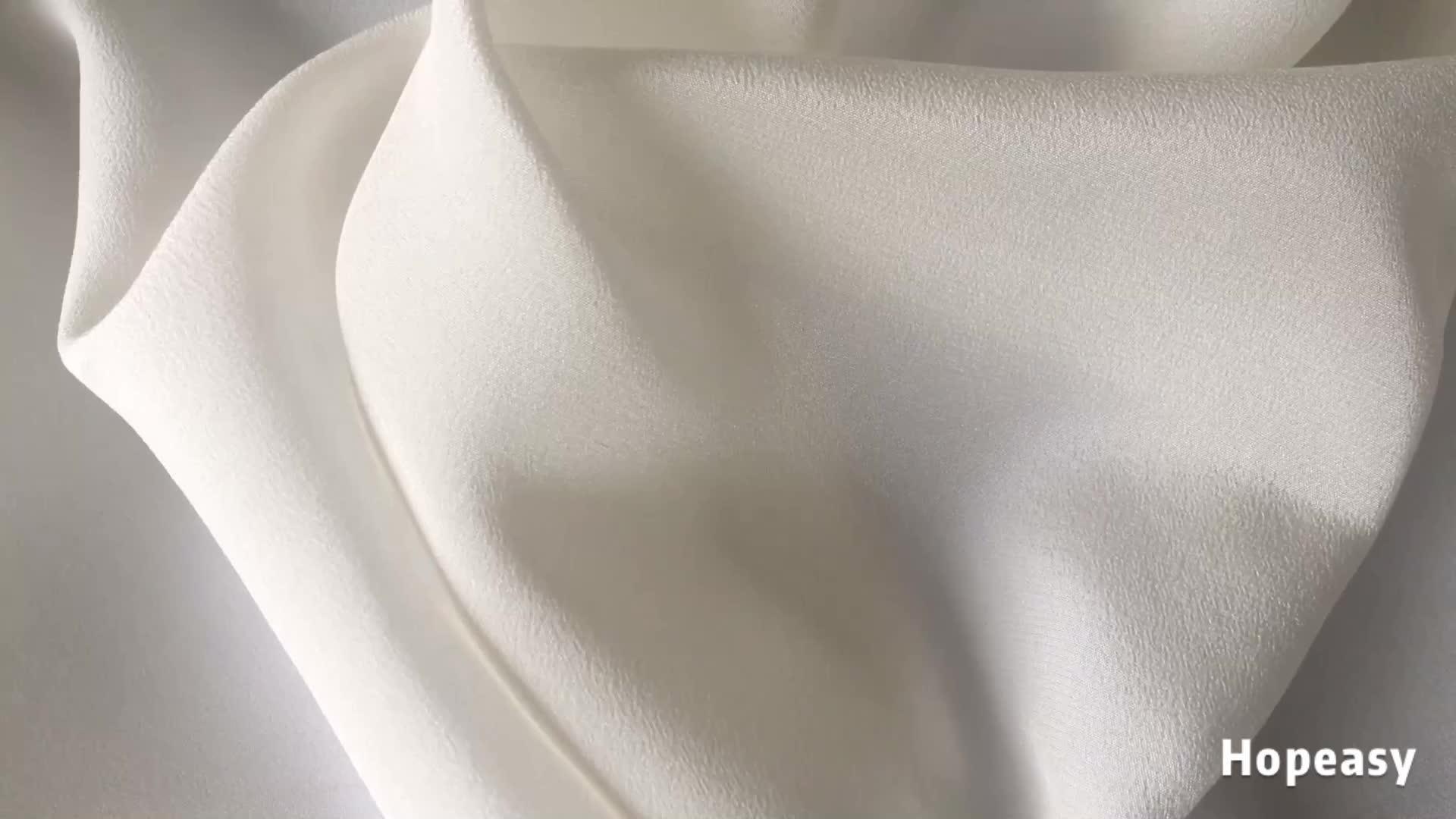 23 m/m 114cm Soie Tissu Crêpe De Chine Naturel Doux CDC En Soie Tissus pour Femmes Robes