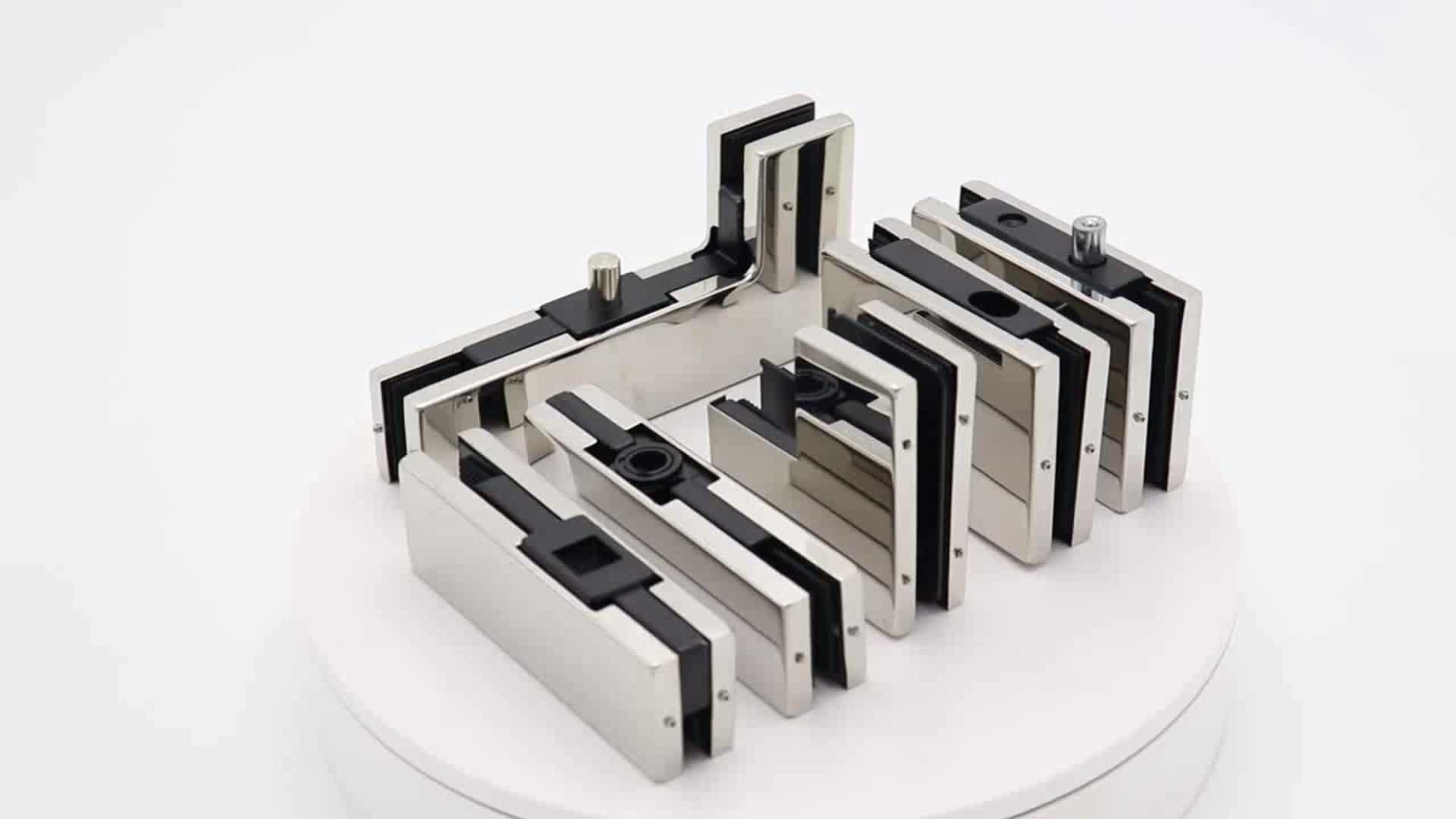 Высокое качество алюминиевый Безрамное стеклянные раздвижные двери