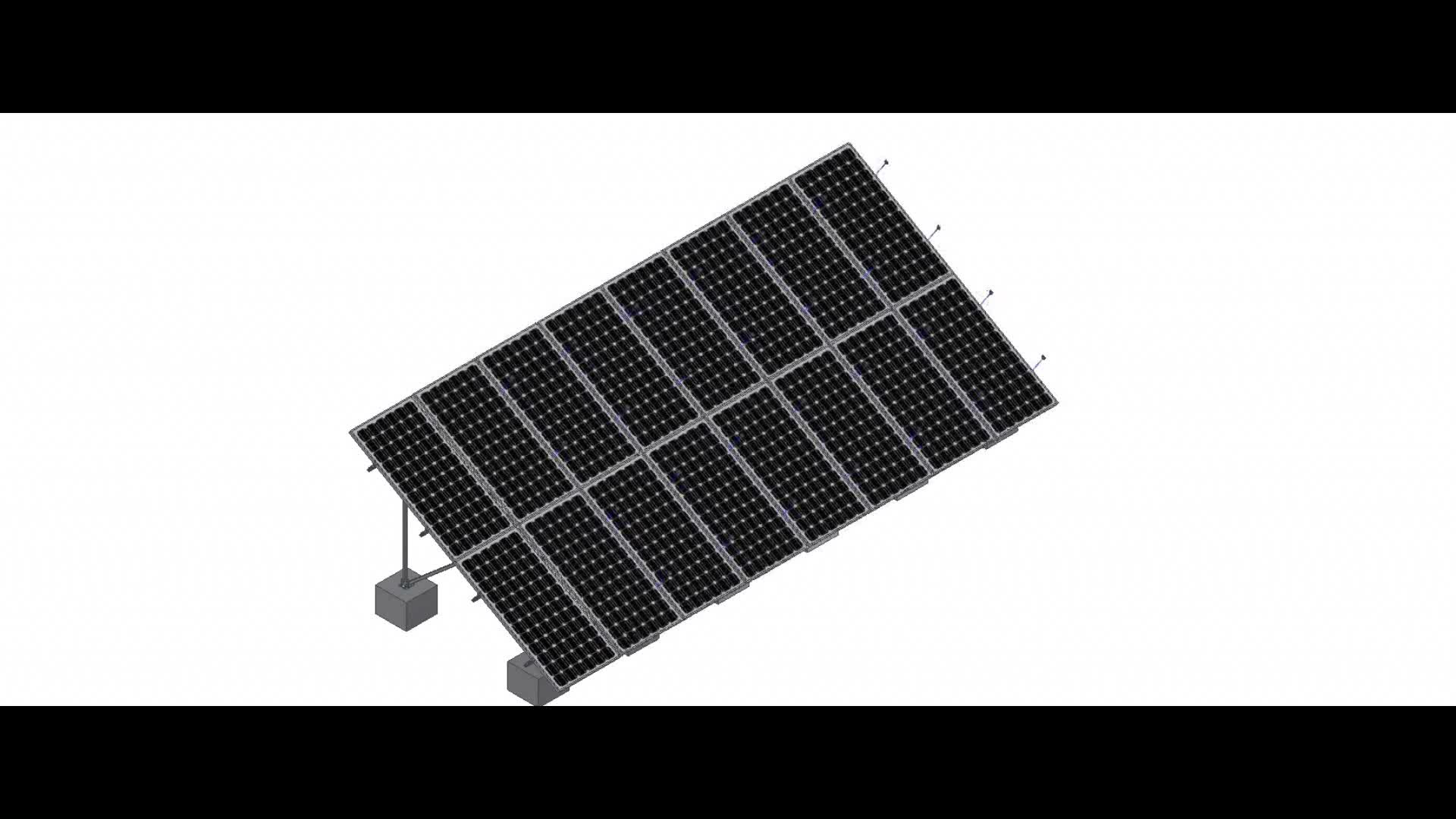 Concrete Base Solar Panel Mounting,Aluminum Solar Panel Mounting Systems for Power Plant