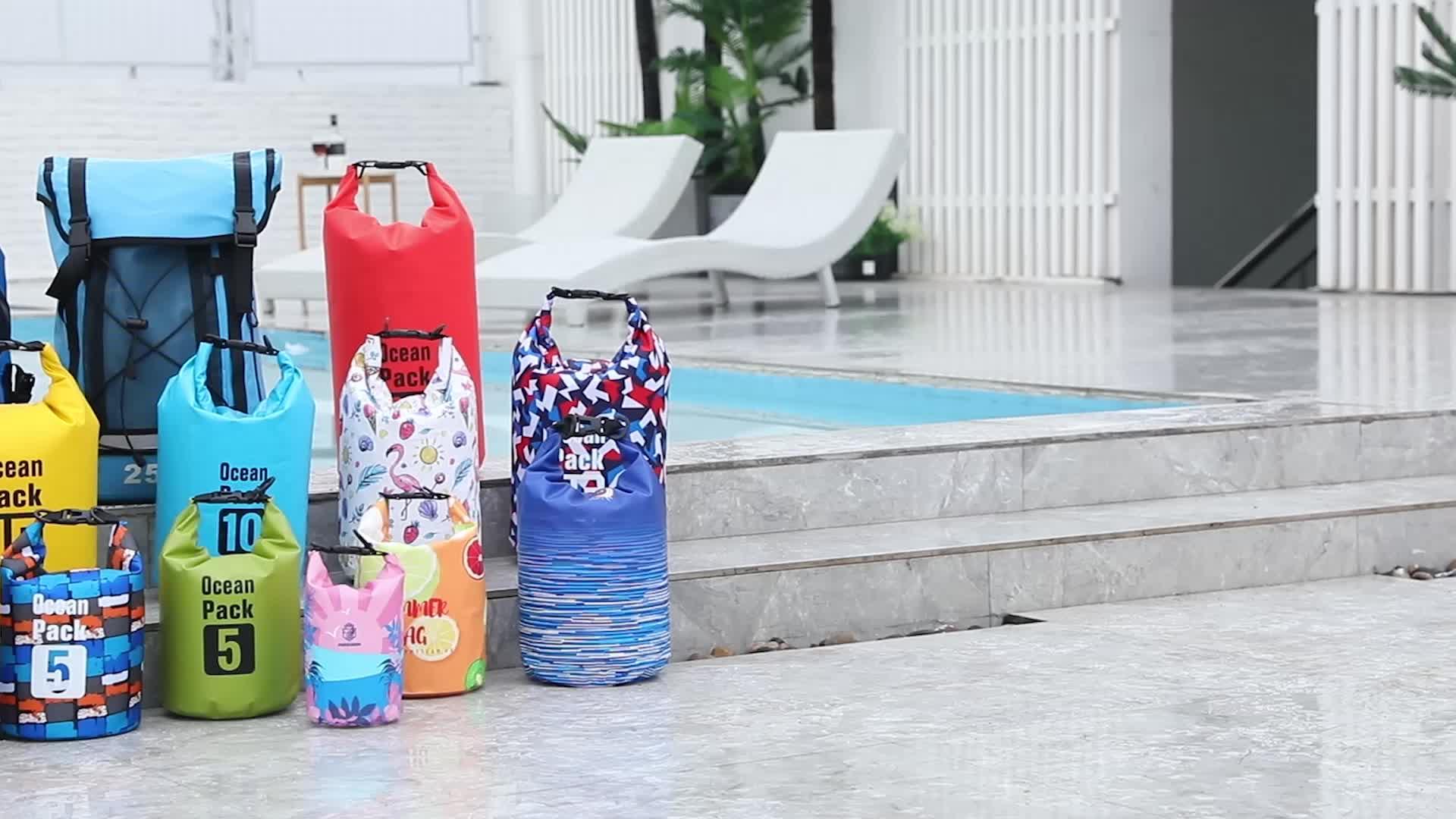 Waterdichte tas Hot Promotionele Relatiegeschenk met Logo voor Outdoor en Reizen