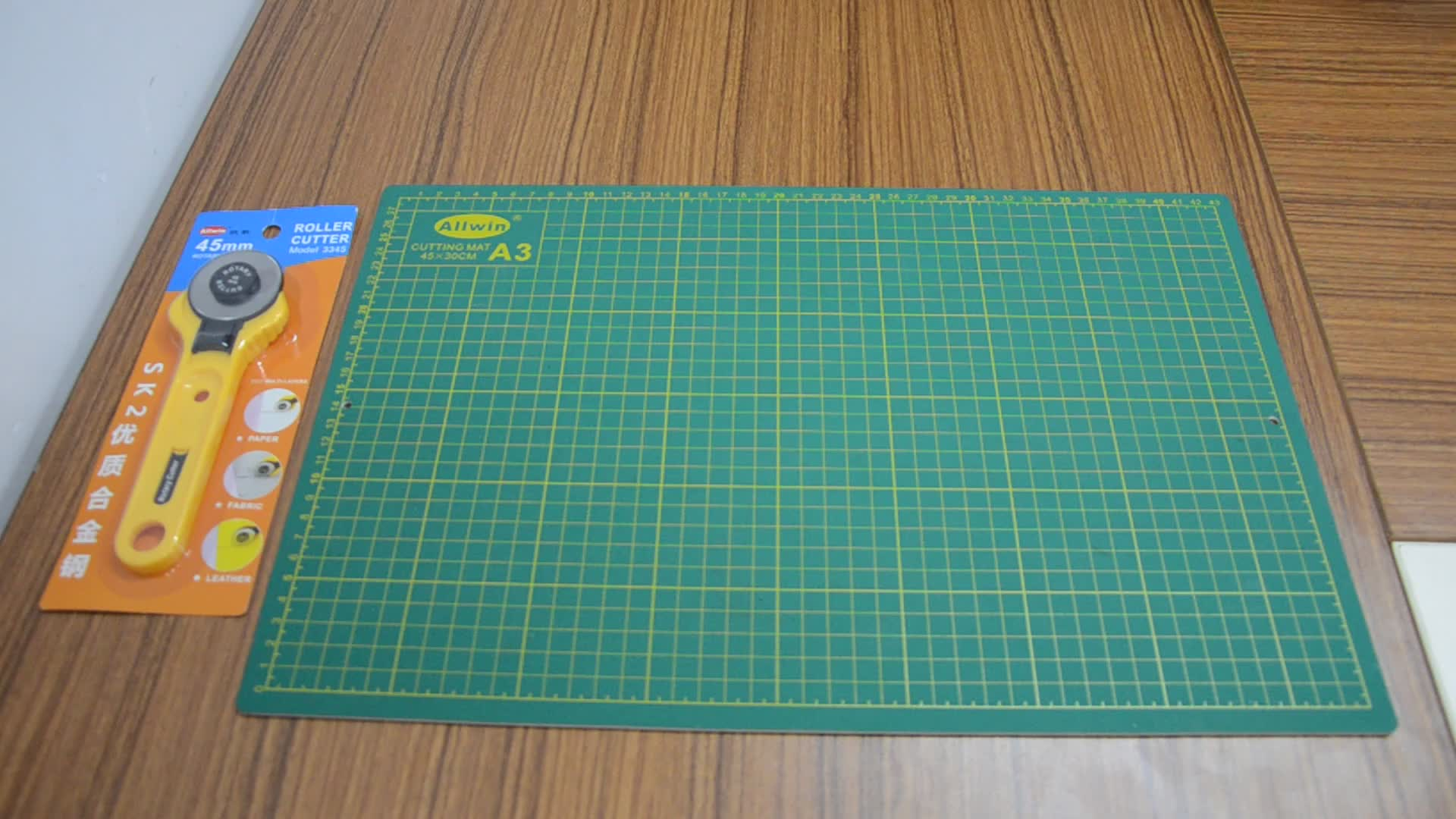 Professional rotary cutting mat set factory produce self healing cutting mat good price  cutting board for crafts
