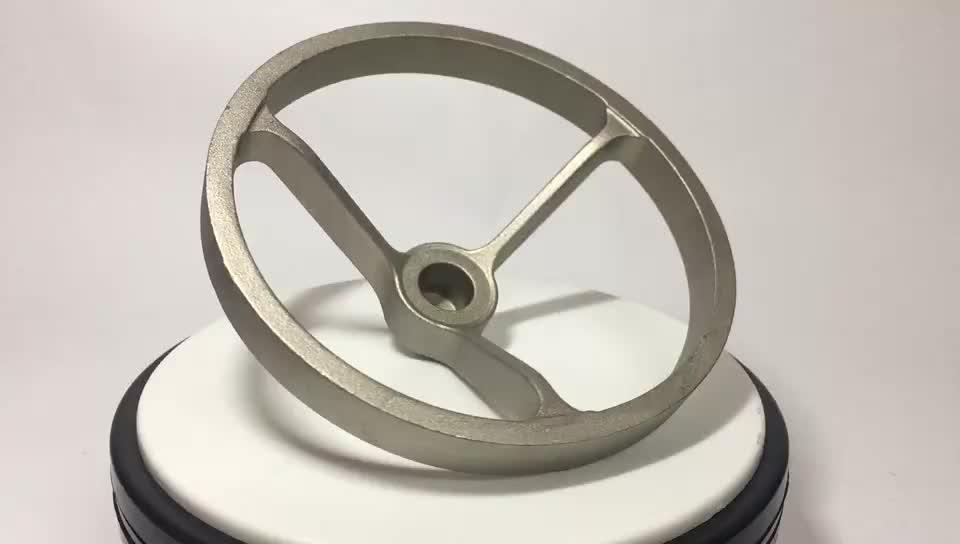 Densen Customized Nonstandard Steel Solid Handwheel Fabrication As Per Drawings, Custom Metal Valve Handwheels Manufacture