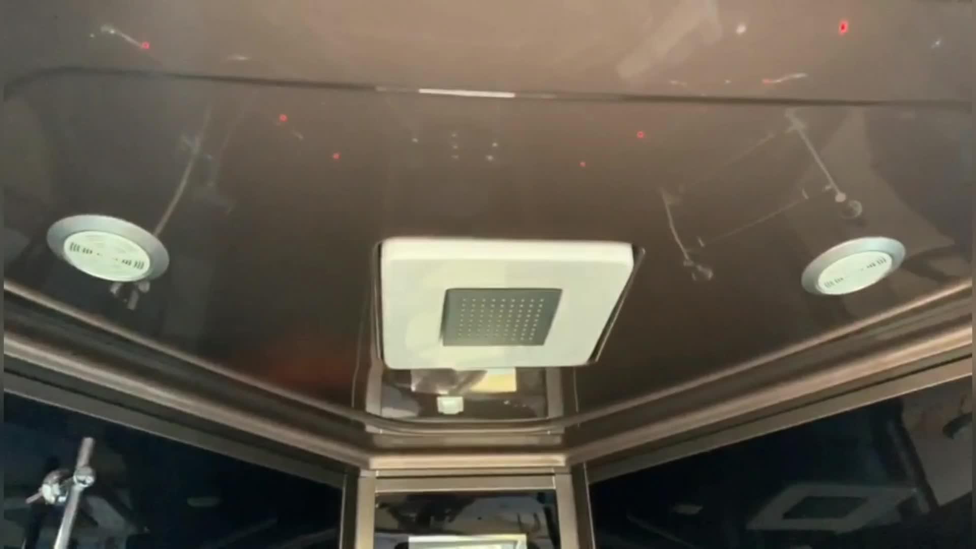 כמו-31011 חדש עיצוב יוקרה רחצה מקורה קיטור מקלחת חדר עם טלוויזיה