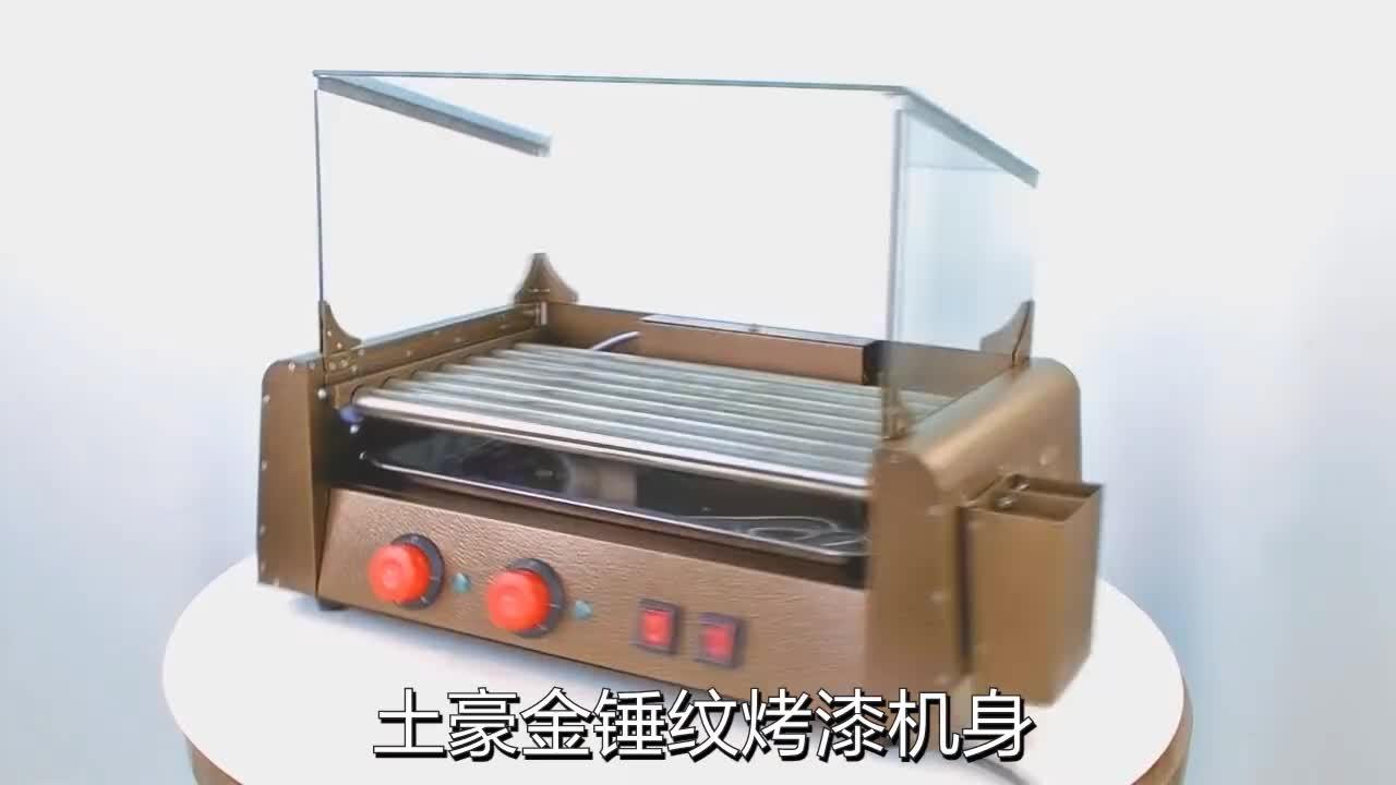 Hot koop fashion golden hot dog stoomboot winkelwagen voor hotel & restaurant #546