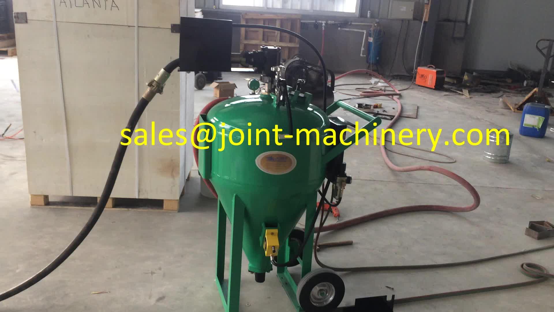 Dustless Sand Blasting Machine Db225 Industrial Electric