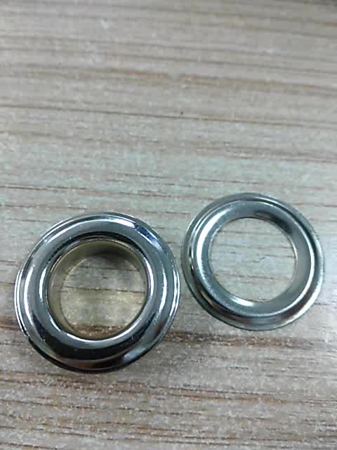High quality round iron metal garment eyelet with grommet