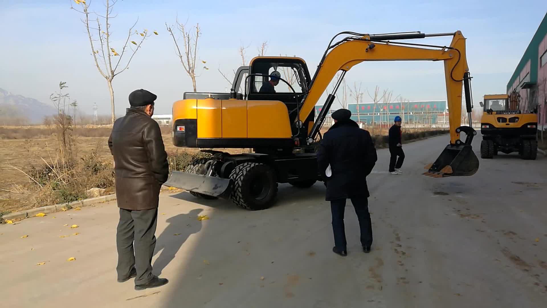 A construção da fábrica Chinesa barato mini escavadeira para venda no reino unido