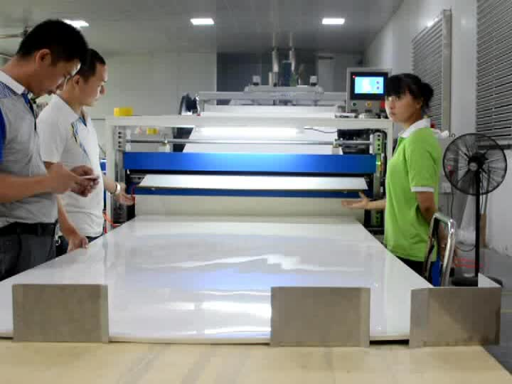 1.2mm 1.4mm 1.5mm Thick Flexible High Gloss Laminate Lamination Plastic PVC Core Sheet For Furniture