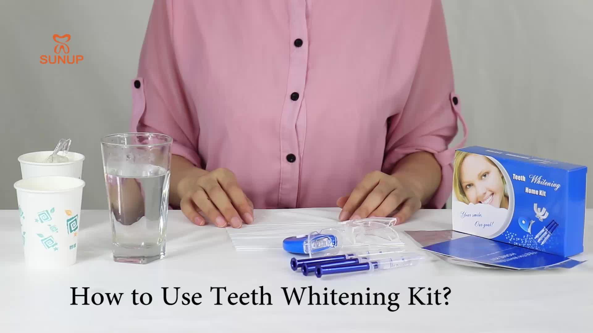 סיטונאי 35% HP שיניים הלבנת ג 'ל שיניים מקצועיות הלבנת מזרק