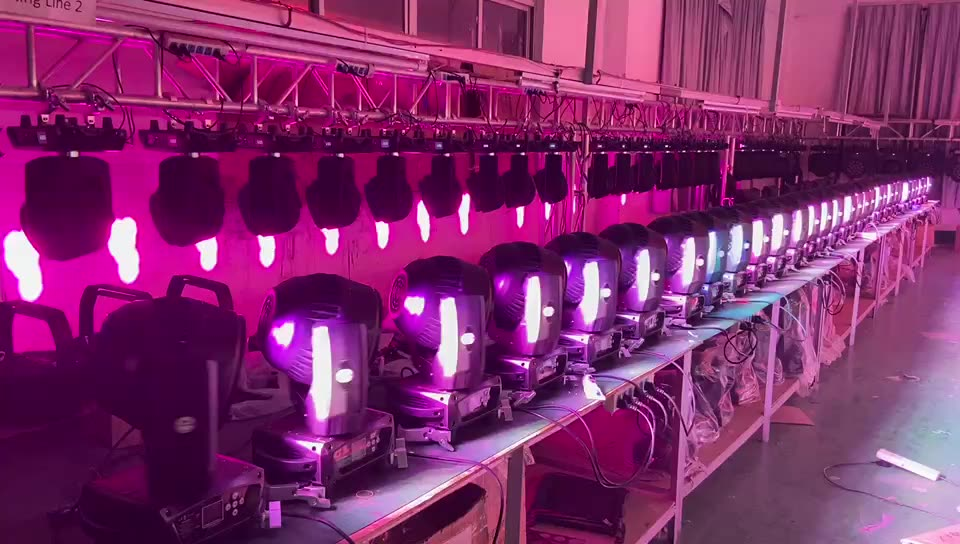 19Pcs Rgbw 4In1 Led Wash Zoom Stage Light Moving Head