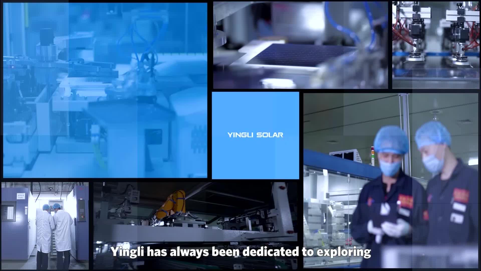 Yingli green energy 260watt 280 w 330watt 350watt solar panel