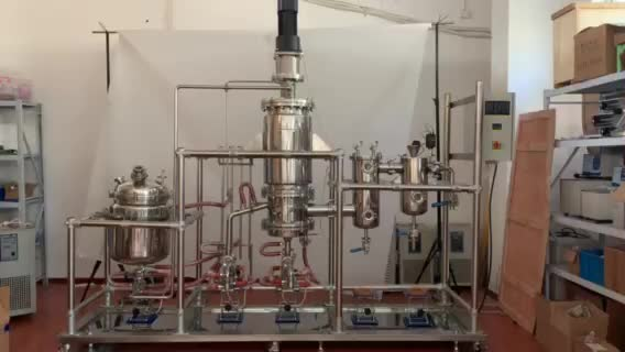 YHCHEM Large Scale Fully Automatic Stainless steel CBD Distillation System
