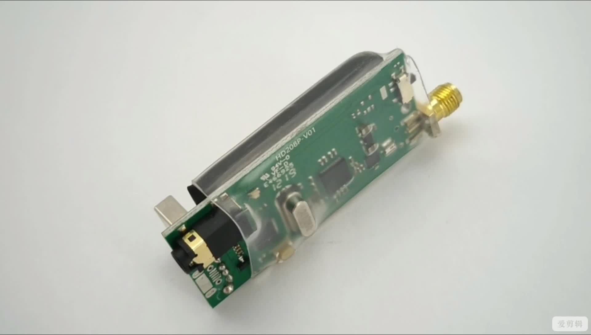 Wfly Tua Receiver Kompatibel dengan ET12 HD208P Frekuensi Tinggi Tuner Module