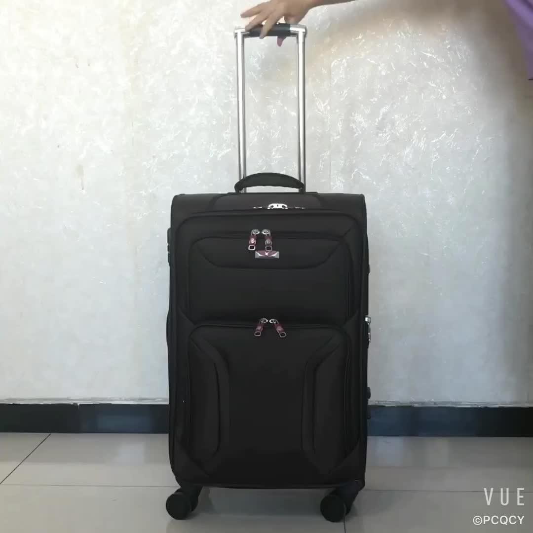 Bán Hot khuyến mại du lịch thanh lịch hành lý bộ xe đẩy hành lý mềm túi đi du lịch vali