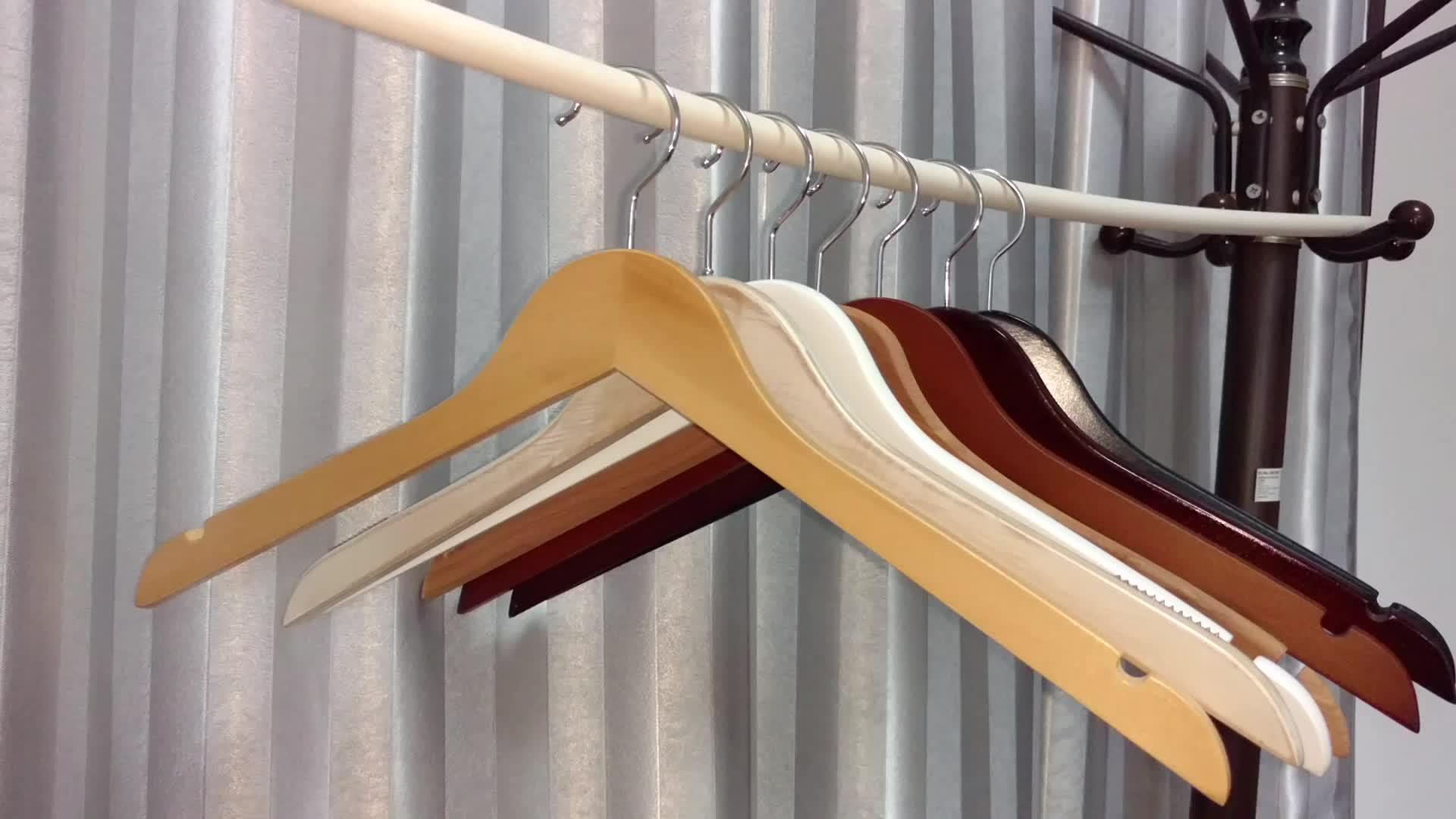 Vendita calda di Alta qualità di stoccaggio di Essiccazione Pantaloni Vestiti del Pannello Esterno Multi Pantaloni di Vestiti di Legno gancio