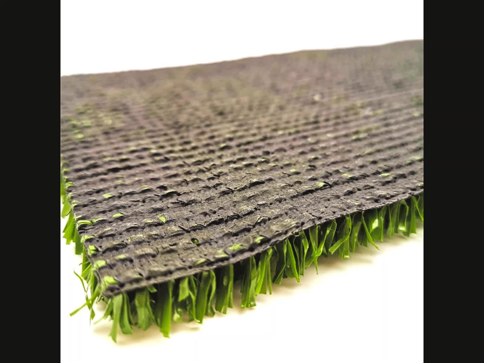 10 millimetri di erba artificiale per parco giochi netto a forma di tappeto erboso sintetico