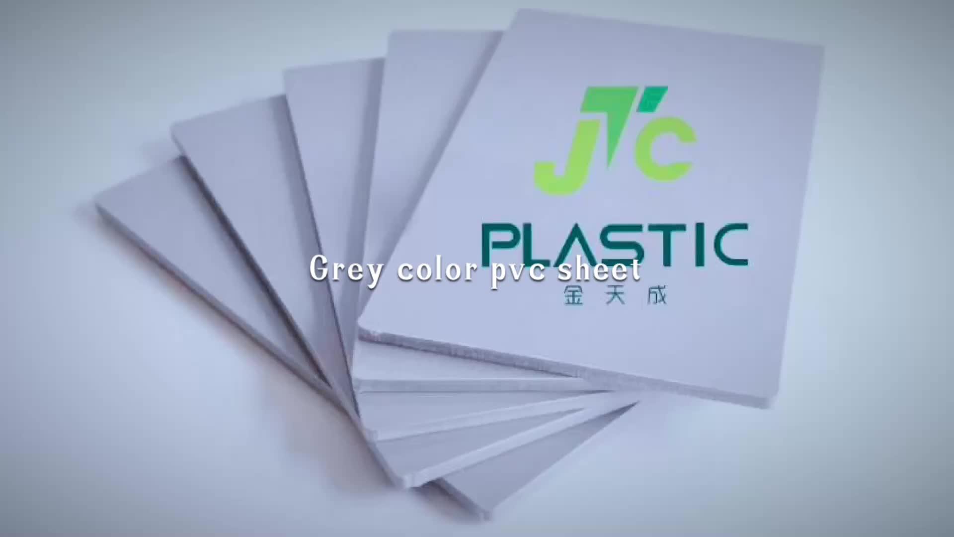 Grey white black ivory solid  Hard Plastic pvc sheet board 1 2 5 10 12 15 20 30mm 40 50 60mm not foam