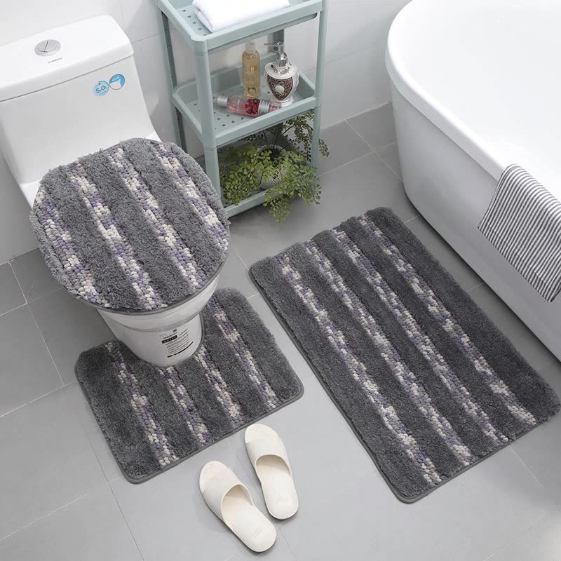 Traditional Chili Pepper Red 3 Piece Washable Bathroom Rugs Set Buy Bath Rug Sets Pc Mat Product On Alibaba Com