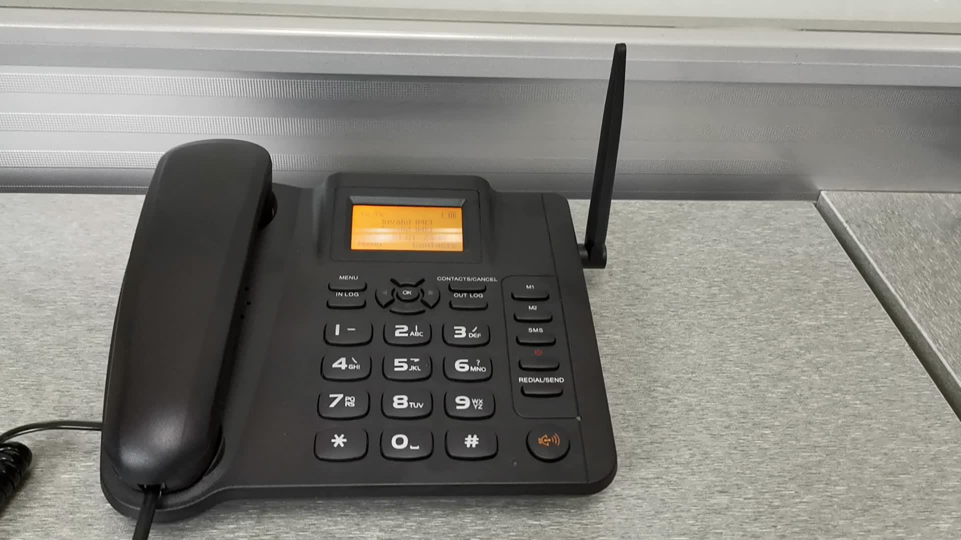 ESN-10A Dual Dua Kartu SIM GSM CDMA WCDMA 2G 3G Fixed Wireless Telepon Fwp GSM Ponsel Desktop