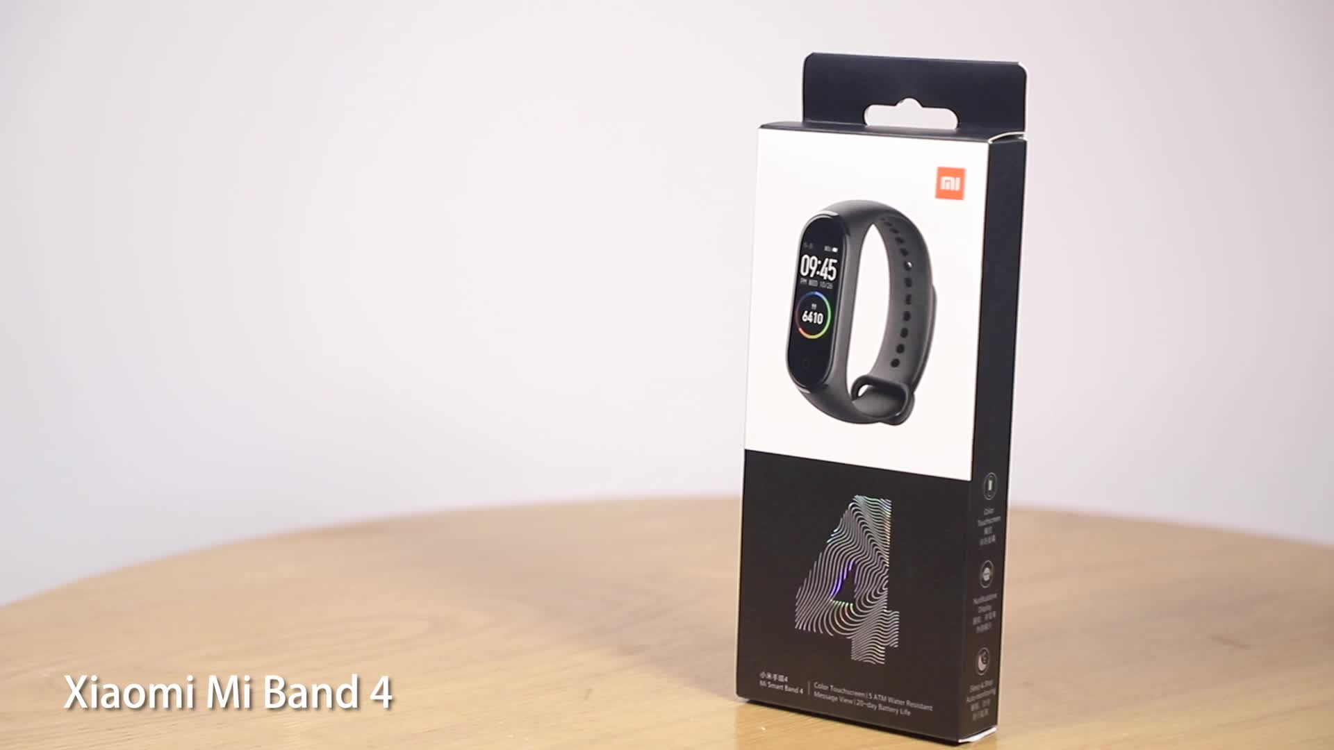 Original Xiaomi Mi Band 4 Smart band4 Bracelet Heart Rate Fitness 135 mAh Color Screen BT 5.0 AI Heart Rate Mi Band 4 Xiaomi