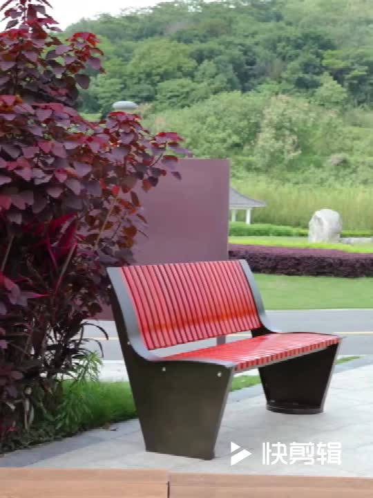 Unique Outdoor Furniture 5  Feet Long Powder Coated Back Metal Outdoor Steel Bench