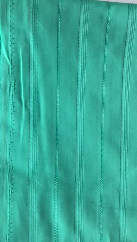 African Sky blue Atiku Design Nigerian Style 100% Cotton Atiku Fabric in 5 Yards