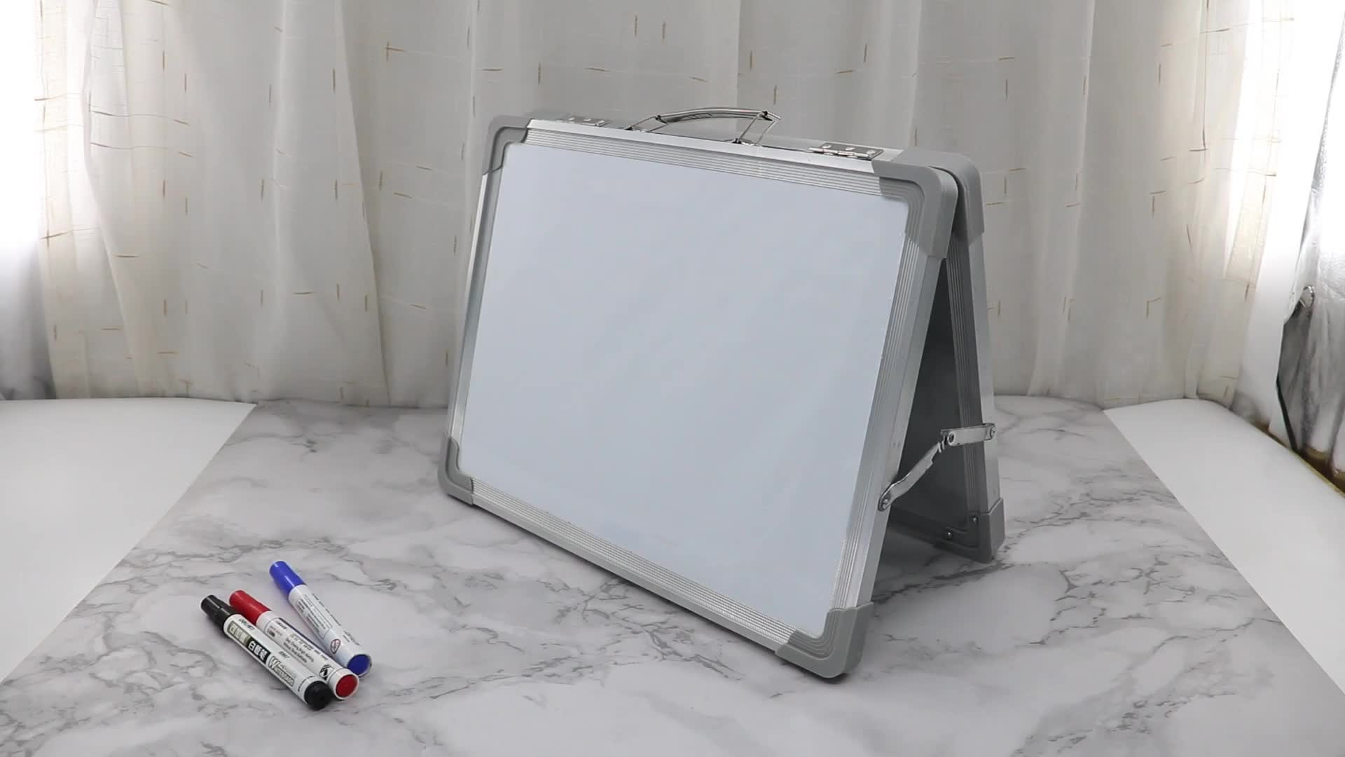 Educational tabletop dry eraser board Wideny home kindergarten supply adjustable two sides honeycomb lapboard whiteboard