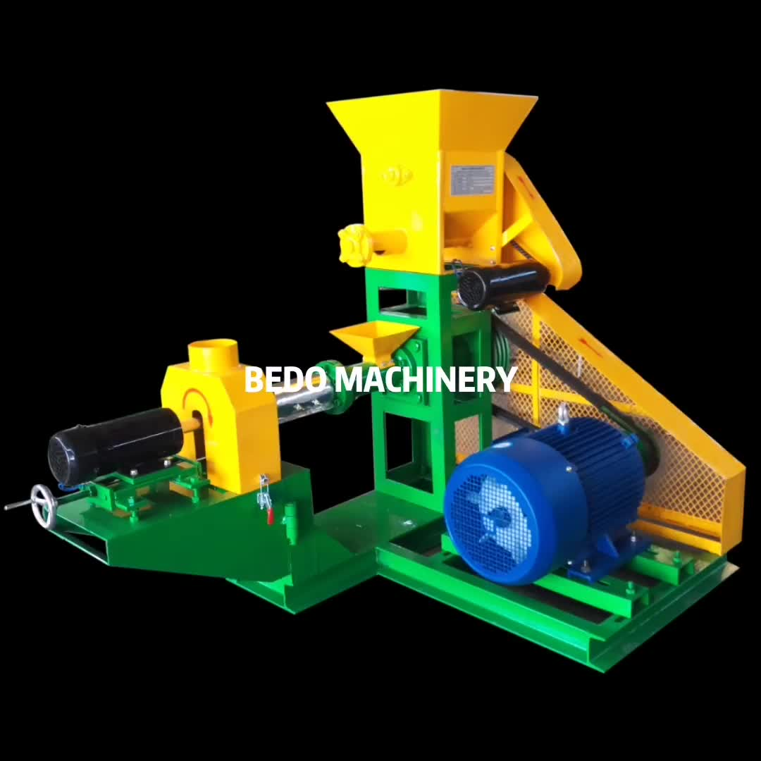 Factory Price Fish Feed Manufacturing Machinery