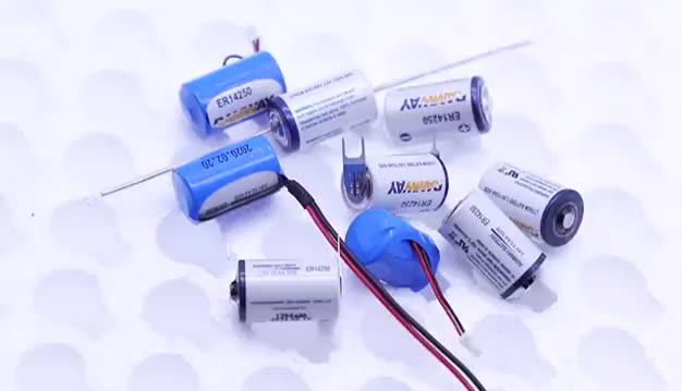 Di alta qualità 6F22 formato ER9v sistema di Allarme batteria di backup al litio Cilindrica