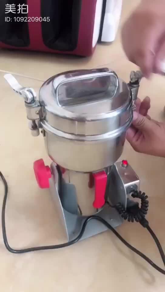 स्टेनलेस स्टील बिजली अनाज चक्की चक्की/Medicial पाउडर मशीन/अनाज अनाज चक्की जड़ी बूटी की चक्की