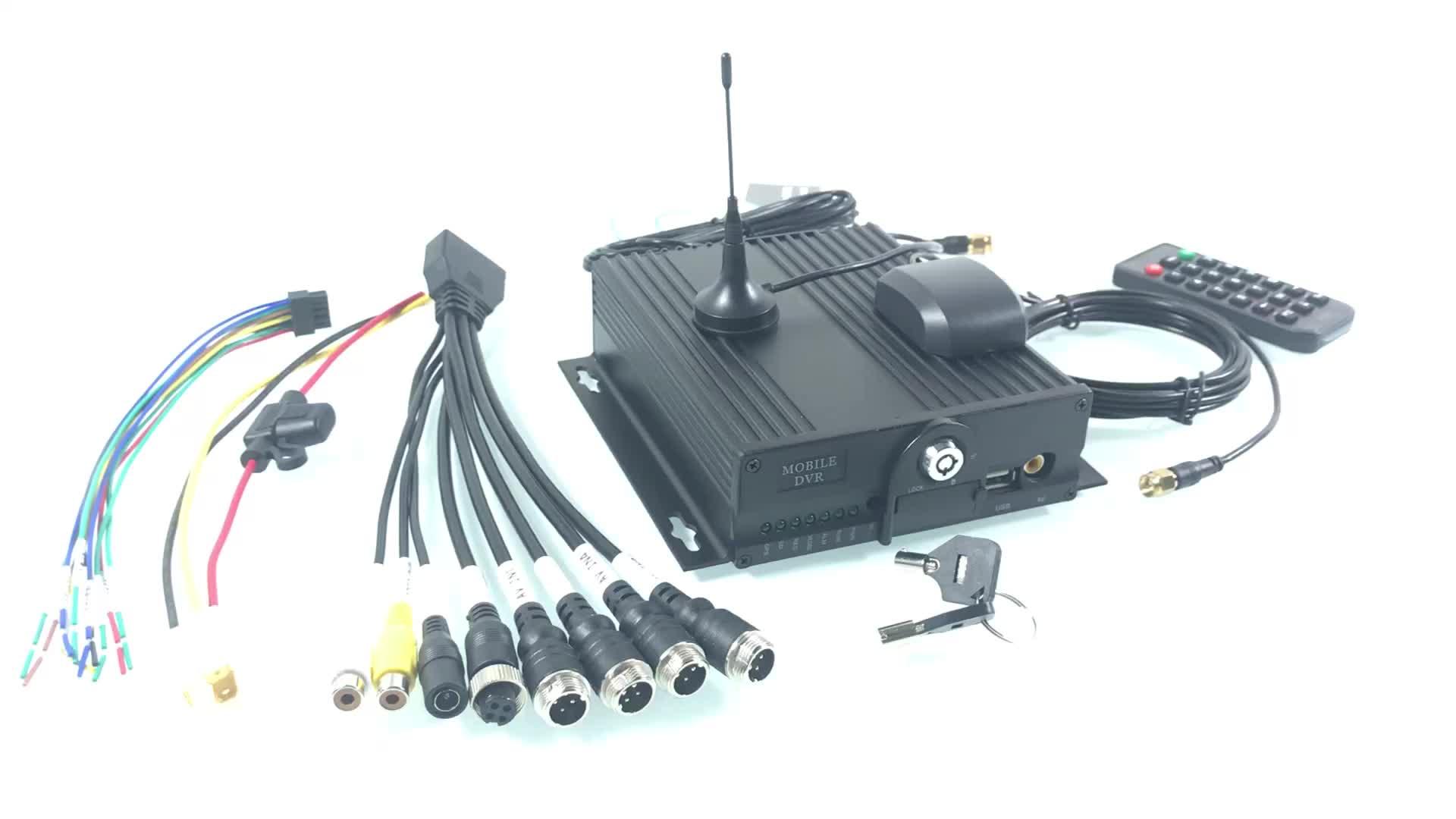 HYFMDVR 4-kênh kép sd thẻ công nghệ hỗ trợ từ xa hd video máy chủ giám sát 24v điện áp rộng thực thời gian giám sát mạng