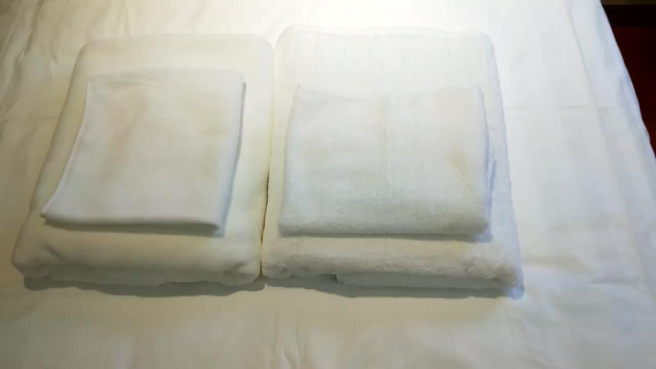 100% baumwolle plain weiß bad hotel gesicht handtuch, hotel heißer handtuch in Guangzhou heißer verkauf