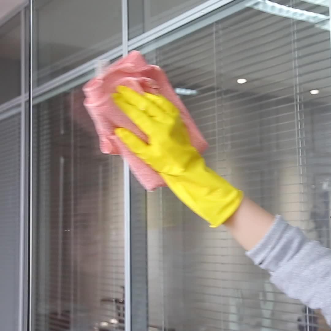 35g Gelb sicherheit Wasserdichte Haushalt Latex Gummi Arbeits Handschuhe