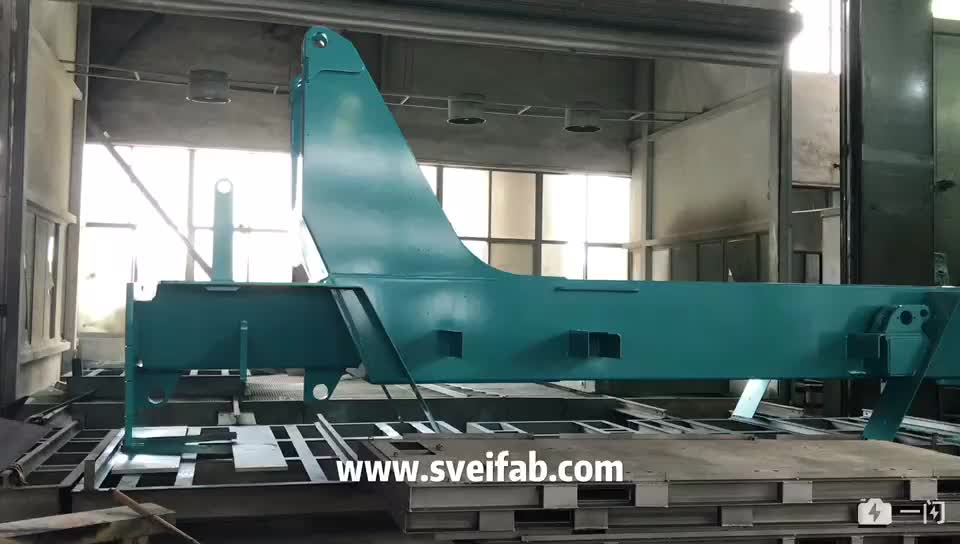 OEM large painting heavy metal welding construction formwork materials