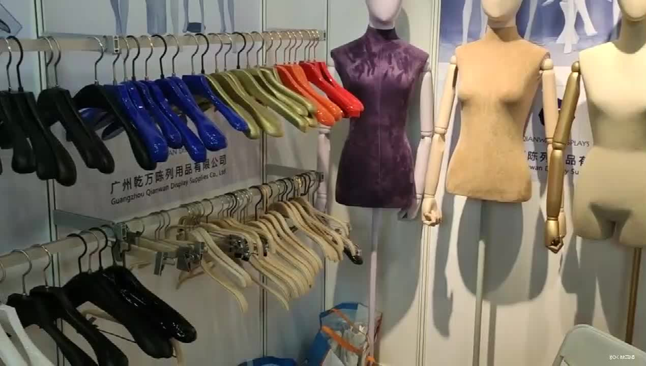 ISO9001 certificated factory Shirt Dress Suit cloths wooden Hangers in High Quality Wholesale