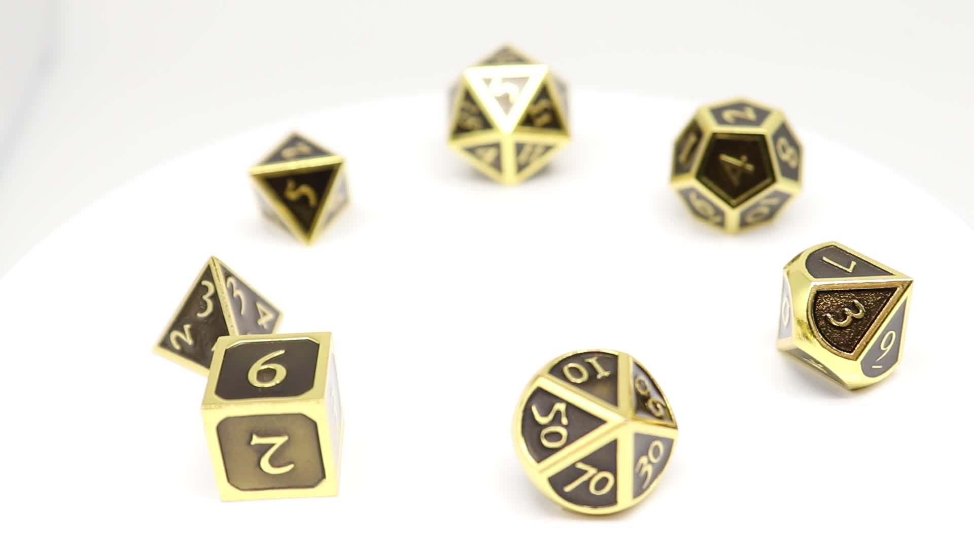 Professional Manufacturer Cheap Wholesale custom souvenir playing polyhedral dice