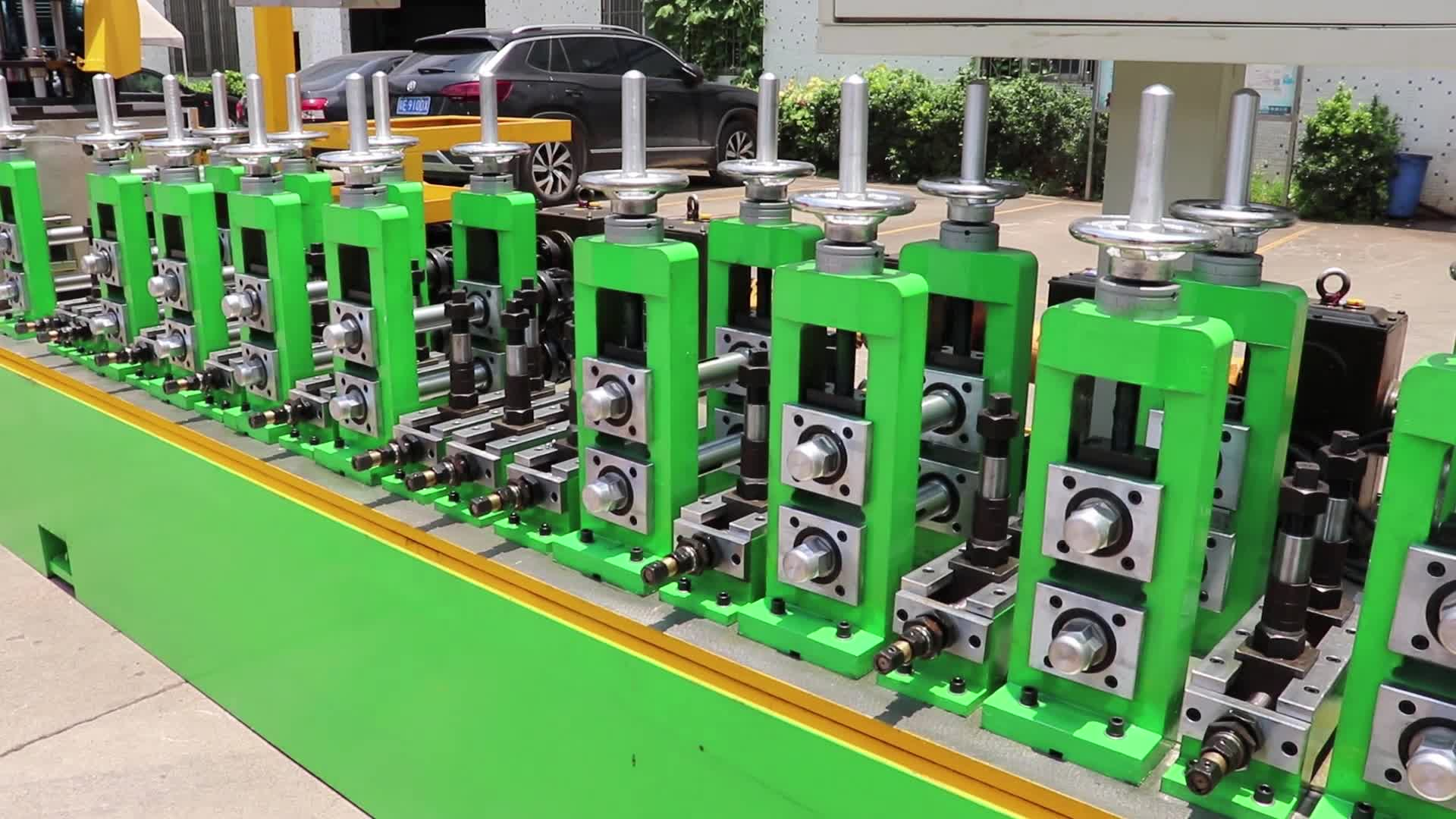 Yxh BZG40Stainless Pipa Baja Jalur Produksi/Pipa Mesin Pembuatan Tabung Mill