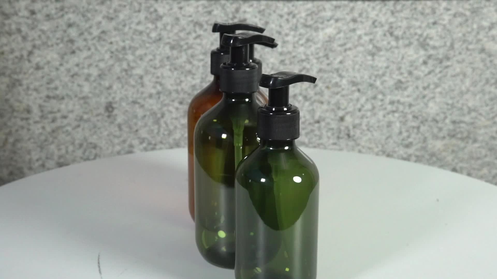 Alibaba Fornitore Superiore vuota smerigliato pompa pet shampoo per capelli di plastica bottiglia di sapone liquido