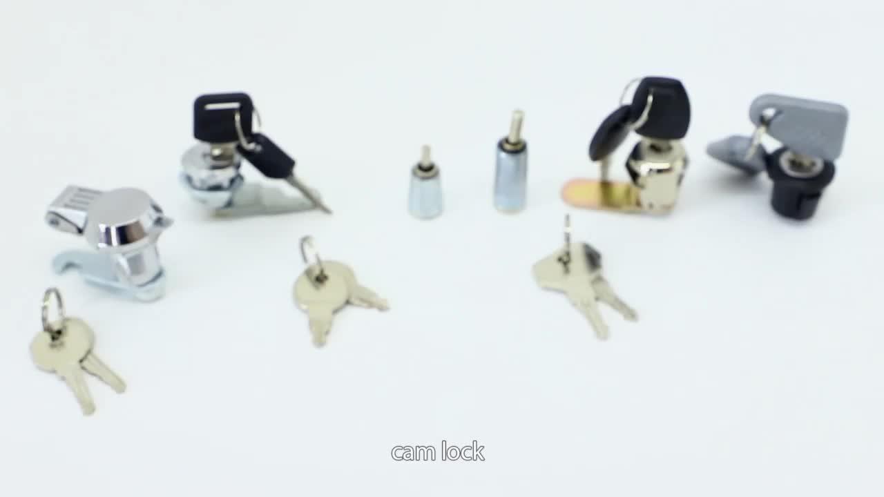 HS112-C en alliage de zinc moulé sous pression boîtier et cylindre meubles armoire serrure à came matériel montage petit remplir armoire serrure