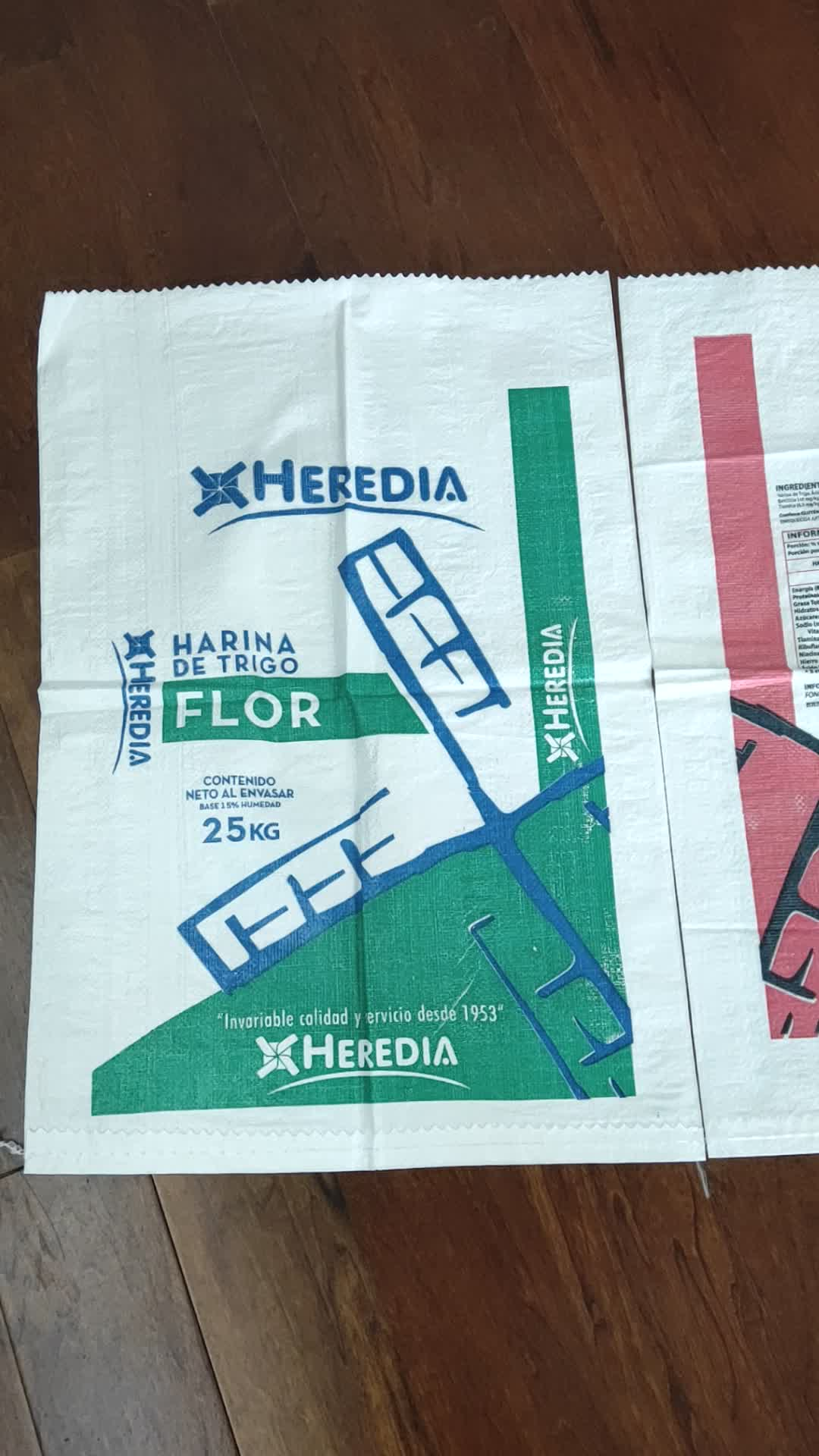 5 kg 10 kg 25 kg 50 kg पीपी पारदर्शी चीनी पैकिंग बैग