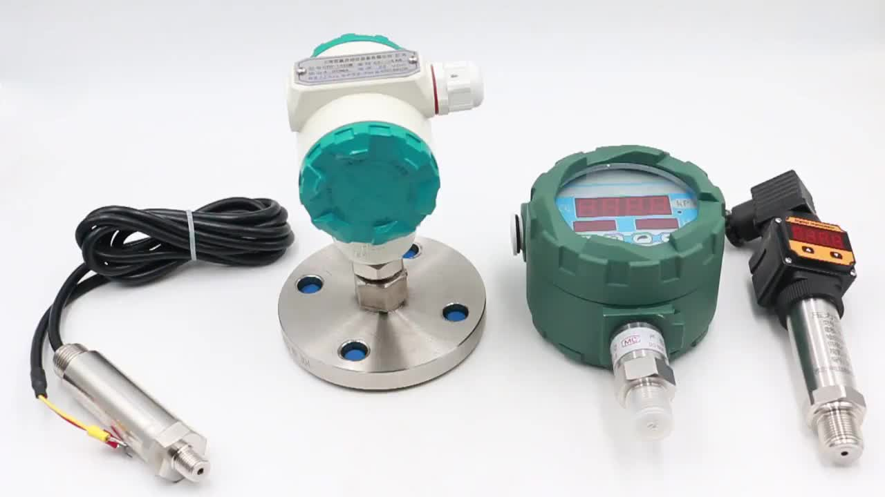 4-20mA RS485 signals industrial digital pressure transmitter 10 bar