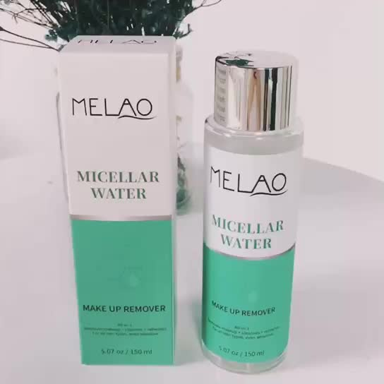 OEM Private Label Gentle Micellaire Diepe Reiniging Water Make-Up Remover