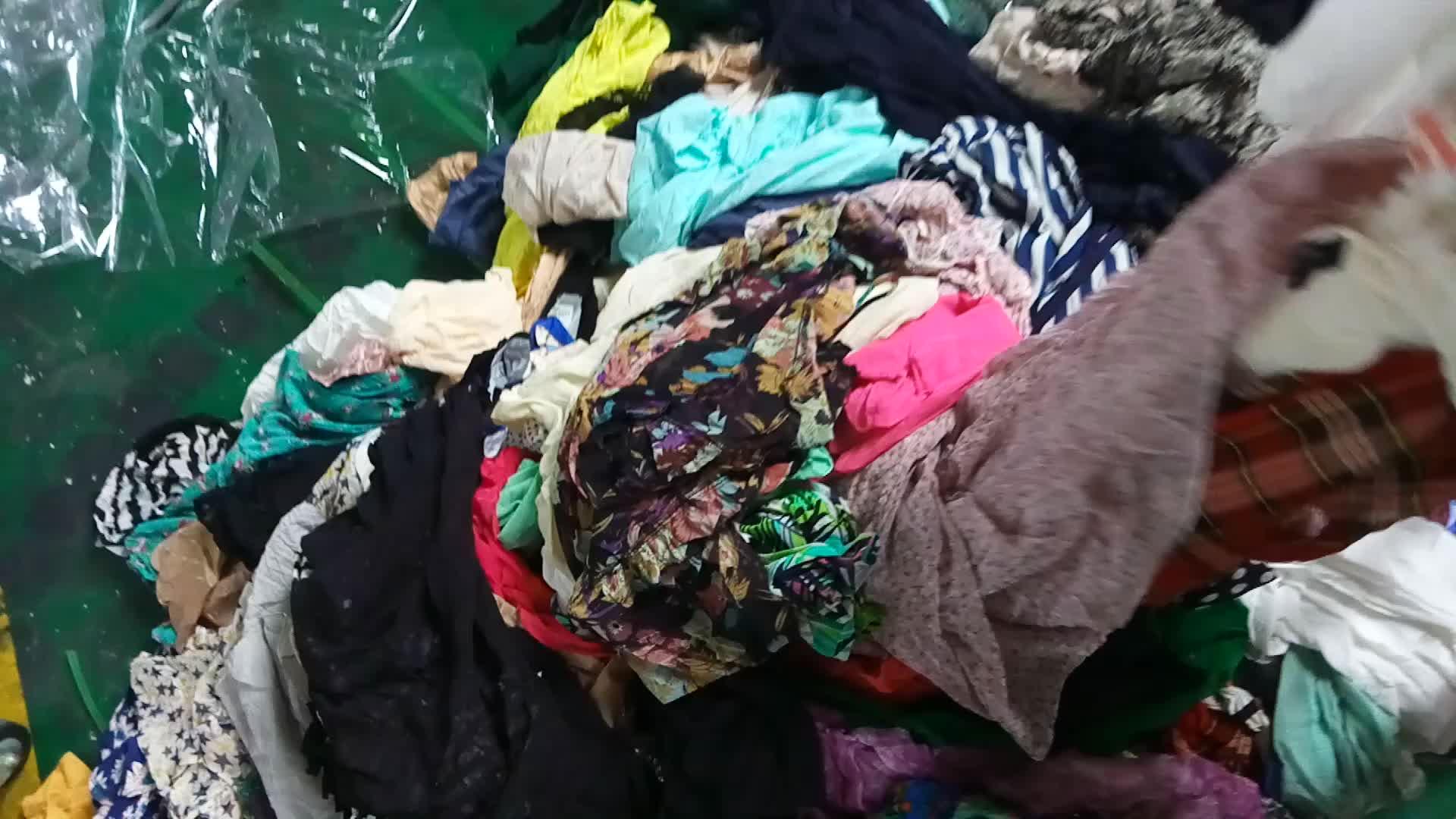 बच्चों इस्तेमाल कपड़ों गांठें 50 kg मिश्रित इस्तेमाल कपड़े