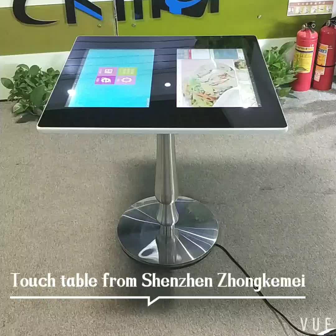 自己注文フル Hd 1080 p タッチスクリーンテーブル